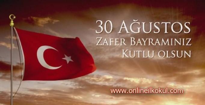 30 Ağustos Zafer Bayramı kutlama mesajları