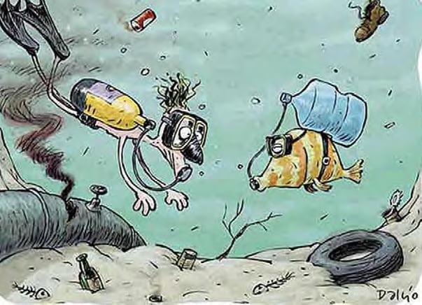 Çevre Kirliliği ile İlgili Karikatürler