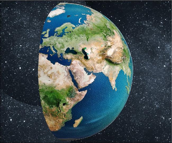 Dünya'mızın yüzeyinde hangi katmanlar vardır?