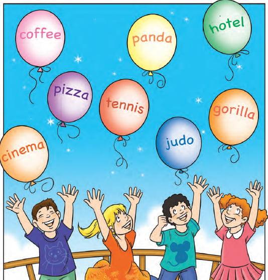 I harfi ile başlayan İngilizce kelimeler