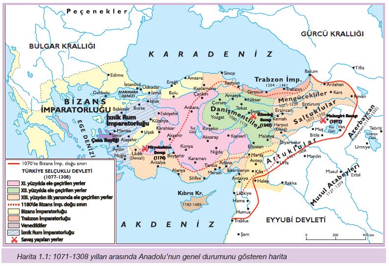 Türkiye Selçuklu Devleti'nin başlangıç süreci ve yıkılışı