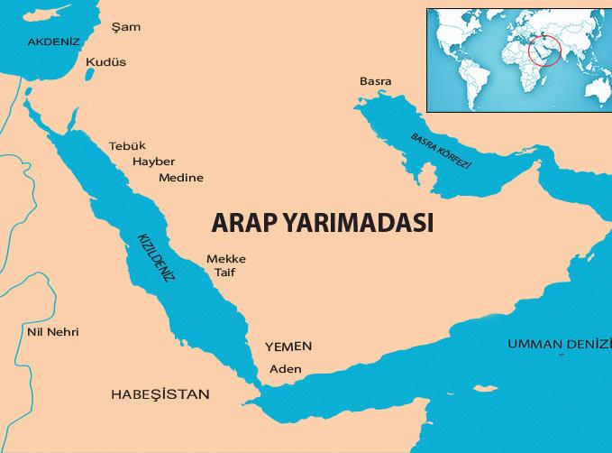 Hz. Muhammed'in (s.a.v.) Doğduğu Çevre