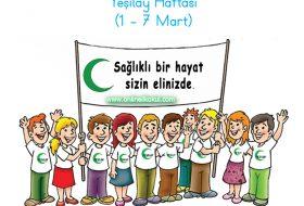 1 – 7 Mart Yeşilay Haftası