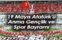 19 Mayıs Atatürk'ü Anma, Genlik ve Spor Bayramı Kutlama Mesajları