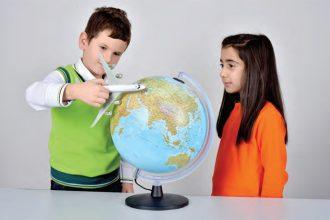 Dünya'nın şeklinin küreye benzediğini anlama etkinliği