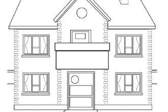 Evimiz iki katlı, ev boyama etkinliği