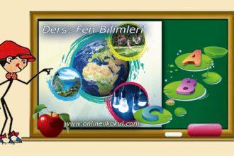 3. sınıf Fen bilimleri Yer Kabuğunun Yapısı ve Dünya'mızın Hareketleri̇ ile ilgili online test 1