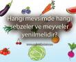 Hangi mevsimde hangi sebzeler ve meyveler yenilmelidir?
