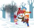 Haydi Gelin Çocuklar Kardan Adam Yapalım