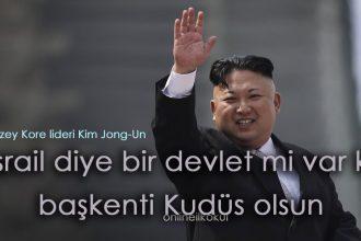 Kuzey Kore'den Kudüs açıklaması