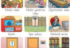 Okulun bölümleri nelerdir?