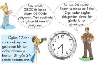 Zaman ölçme birimleri nelerdir?