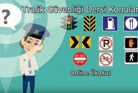 Trafik Güvenliği Dersi Konuları