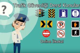 Trafik güvenliği dersi için yapılabilecek etkinlikler nelerdir?