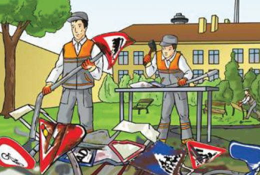 Trafik işaret levhalarını korumanın önemi nedir?