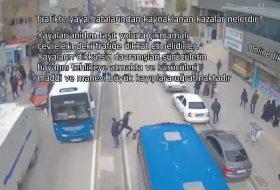 Trafikte yaya hatalarından kaynaklanan kazalar nelerdir?