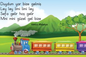 Tren gelir hoş gelir Ley ley limi limi ley