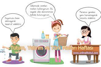 Tutum, Yatırım ve Türk Malları Haftası ile ilgili şiirler