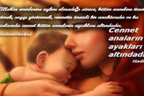 Anneler günü kutlama sözleri ve mesajları
