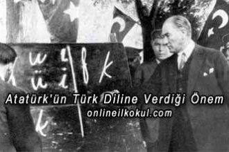 Atatürk'ün Türk Diline Verdiği Önem