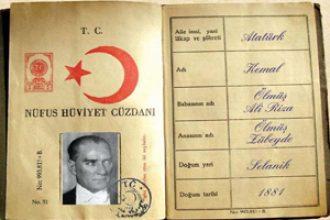 Atatürk'ün Nüfus Cüzdanı ve Kişilik Özellikleri