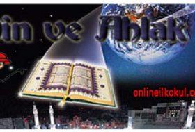 Din Kültürü ve Ahlak Bilgisi Dersinde kullanılan kısaltmalar nelerdir?