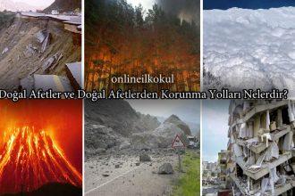 Doğal afetlerin zararlarından korunabilmek için ne gibi önlemler alabiliriz?