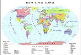 Dünya Üzerindeki Ülkeler ve Başkentleri