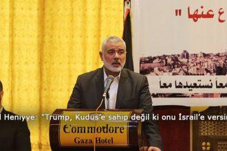 Trump, Kudüs'e sahip değil ki onu İsrail'e versin