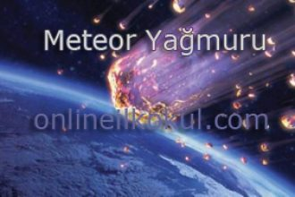 Meteor yağmuru nedir?