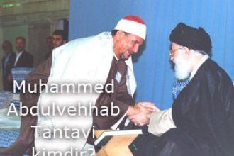 Muhammed Abdulvehhab Tantavi kimdir?