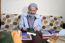 87 yaşındaki Nail Dede'nin okuma-yazma hayali
