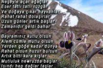 Nevruz Akrostiş Şiiri