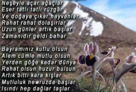 Nevruz Bayramı Akrostiş Şiiri