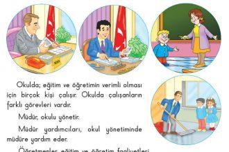 Okul çalışanları ve görevleri