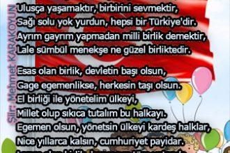 Ulusal Egemenlik Akrostiş Şiiri